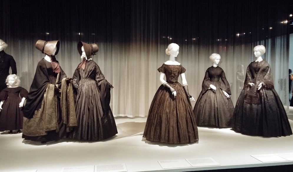 Death Becomes Her: Victorian Mourning Fashion at the Met nyc