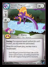 My Little Pony Steven Magnet, What a World! High Magic CCG Card