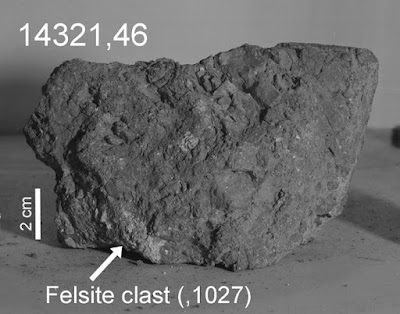 The most ancient stone of Earth found on the moon Planet-today.com
