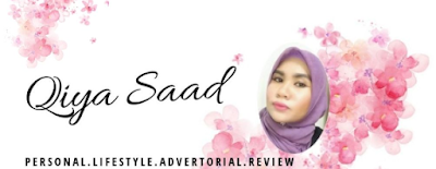 Tukar Header Blog, Design Header Blog Qiya Saad
