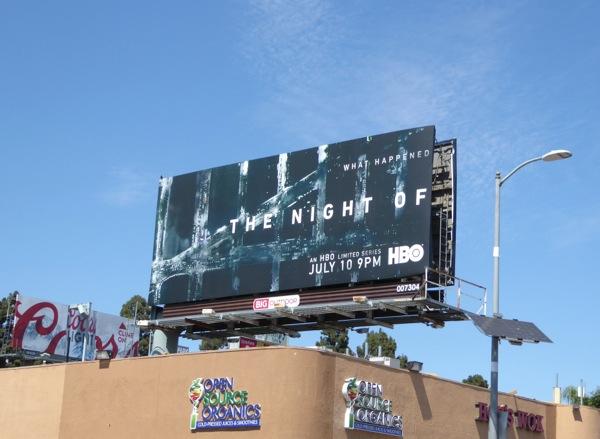 The Night Of TV series billboard