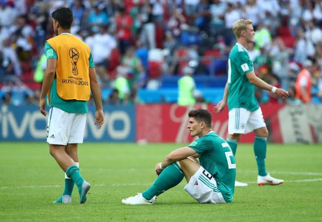 Piala Dunia 2018: Korsel Hancur Leburkan Jerman di Rusia