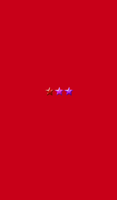 Red Simple 3 Star 2