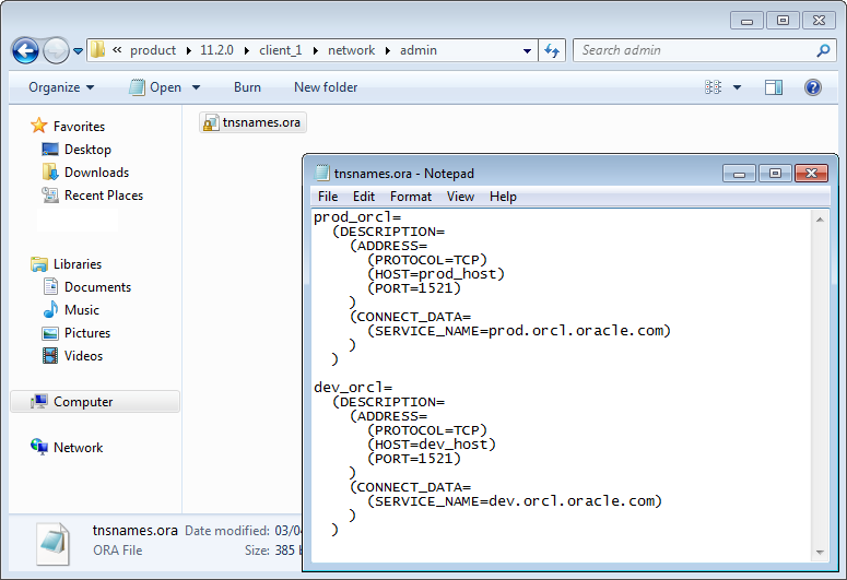 Create A New Database In Oracle Sql Developer Oracle Sql Developer Where To Copy Tnsnamesora File Free Download Programs