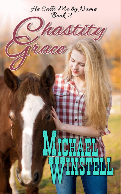 Chastity Grace, Grace Anderson, He Calls Me by Name, girl, horse, book, book cover, Jenny V Photography