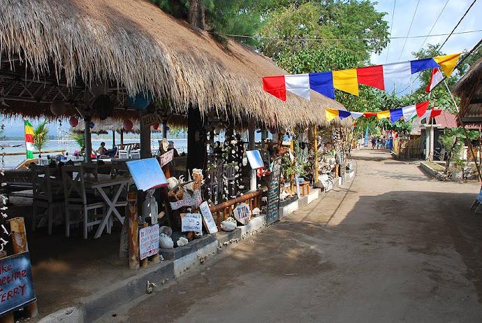 Restaurantes junto a la playa