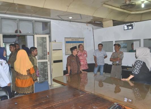 Hari Pertama Masuk Kerja, Pemeritah Kabupaten Kepulauan Selayar, Sidak ASN