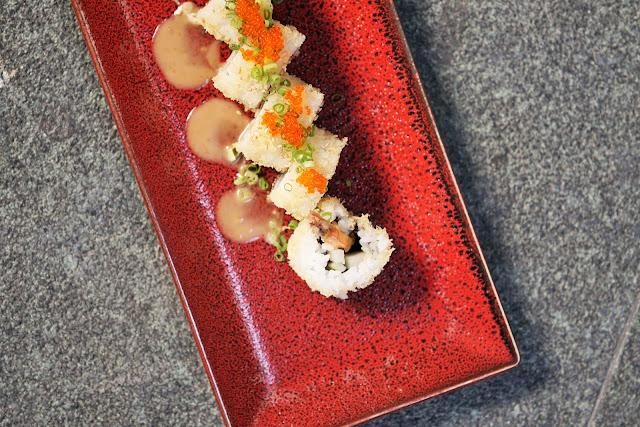 shrimp tempura sushi ebiten roll