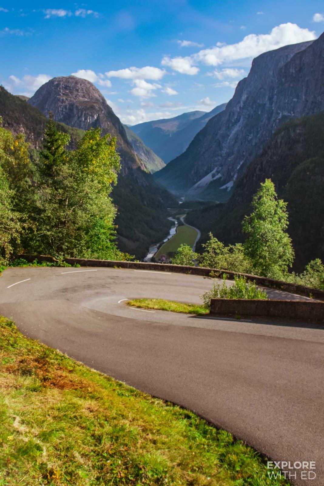 The Stalheimskleiva, Norway's steepest road, World's most dangerous roads