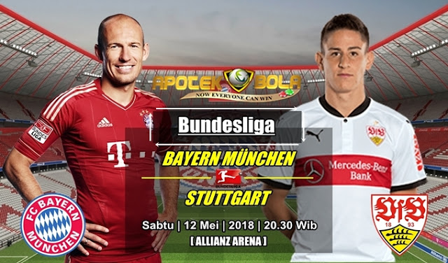 Prediksi Bayern Munich vs VfB Stuttgart 12 Mei 2018