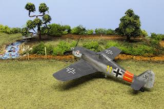 Fw 190 A-8 d'Eduard au 1/48.