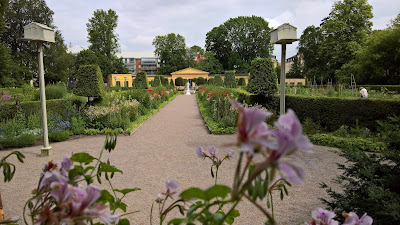 View of main axis of the Linnaeus Garden.