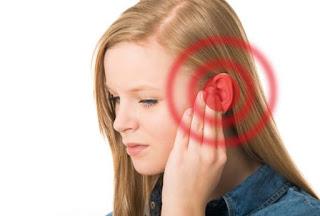 سبب إرتفاع درجة الحرارة وإحمرار الأذن