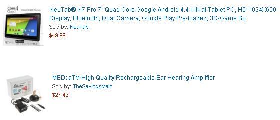 Tablet Neutab, amplificador de sonido
