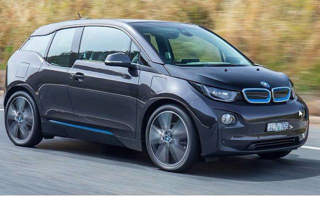 Mobil BMW i3 2017