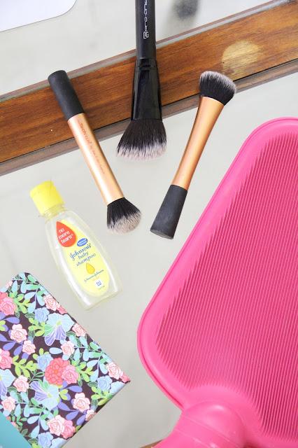 DIY brush cleaning mat, cheap brush cleaning mat.