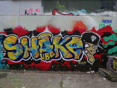 Shake graffiti
