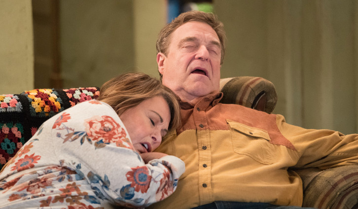 Roseanne - Episode 10.03 - Roseanne Gets the Chair - Promotional Photos + Press Release