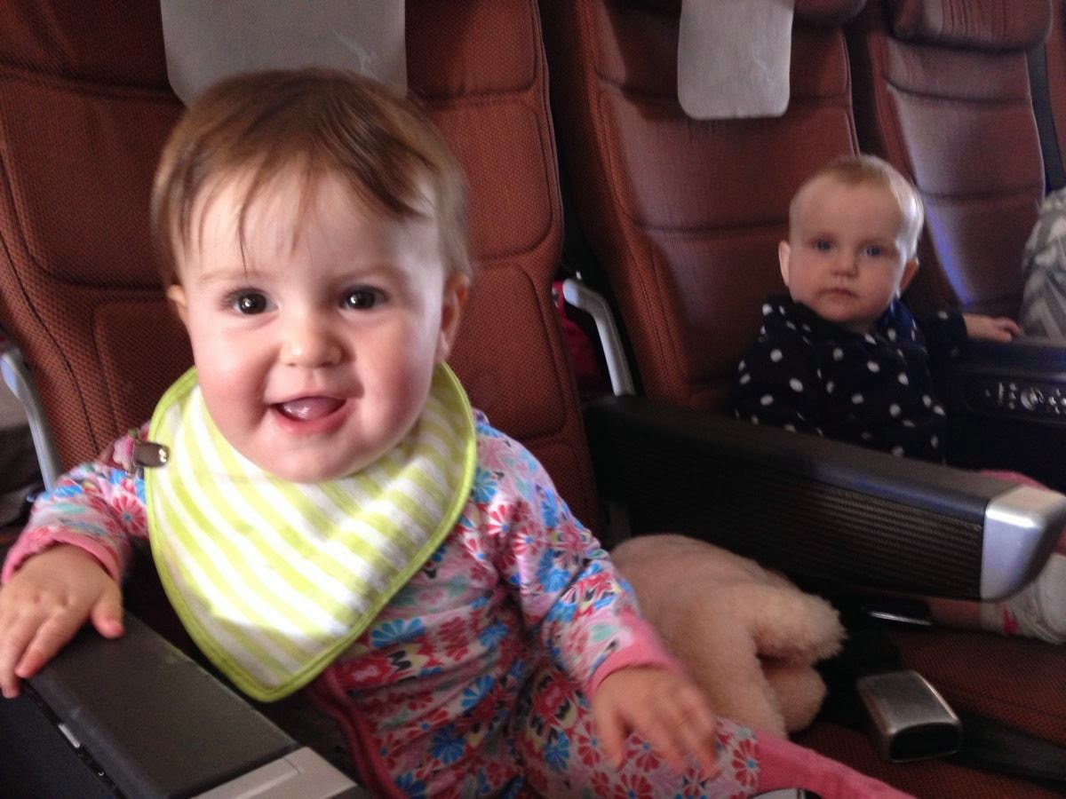 Drop in with Laura: Flying with Baby
