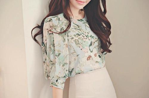 El secreto del pelo brillante de la mujer coreana.
