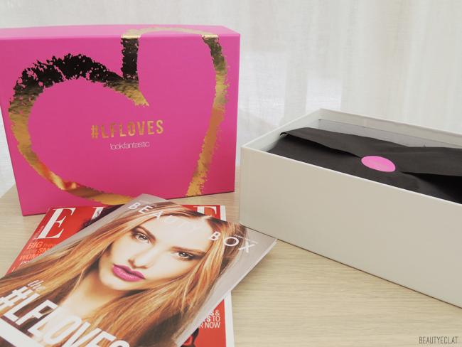 lookfantastic beauty box fevrier 2016 revue avis test