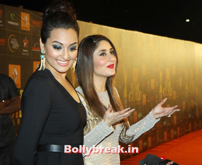 Sonakshi Sinha, Kareena Kapoor, Star Guild Awards 2014 Pictures