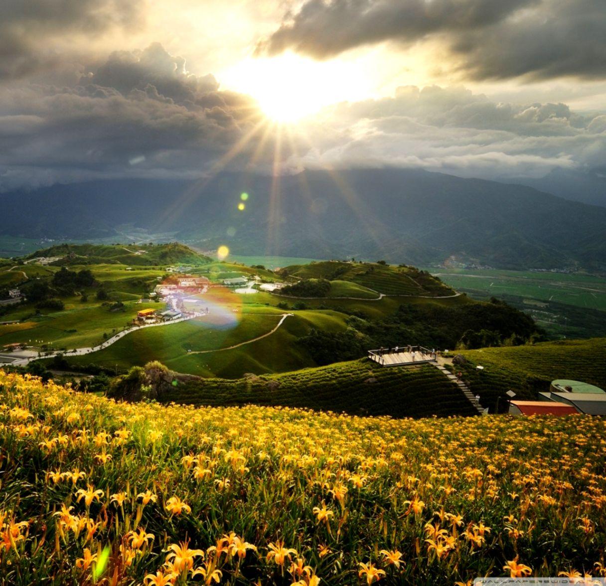 Beautiful Mountain Landscape ❤ 4K HD Desktop Wallpaper for 4K