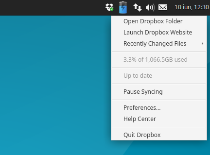 Fix Dropbox Indicator Icon And Menu Not Working In Xubuntu