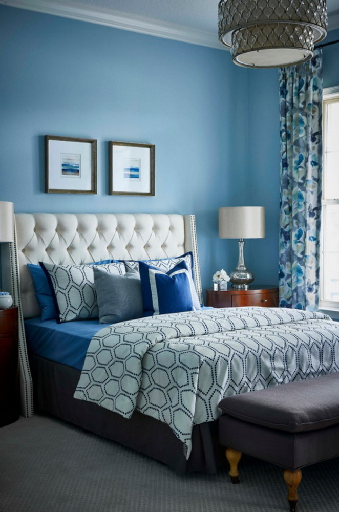 Latest trends in bedroom color combinations - home interior color ...