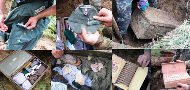 World War 2 Lock Box With Incredible Memorabilla Was Discovered! This Is Amazing!