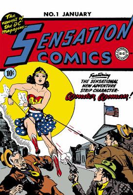 Sensation Comics (1941) #1 Cover