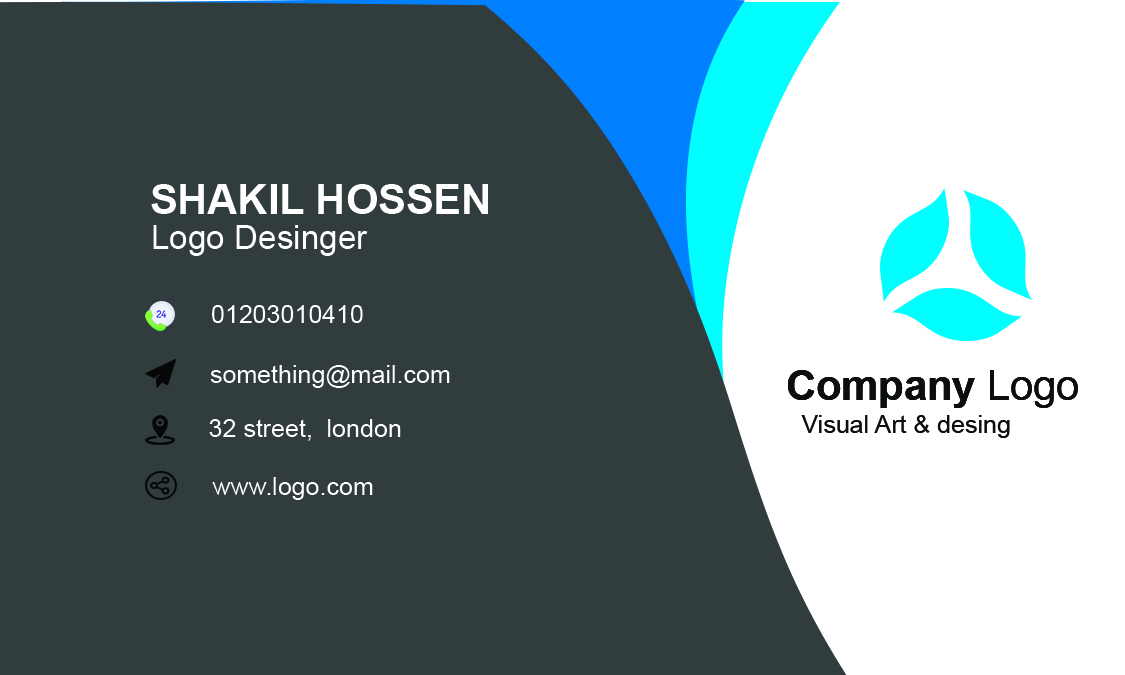 Gdr Shakil Gdr Shakil How To Make A Business Card With Photo Shop