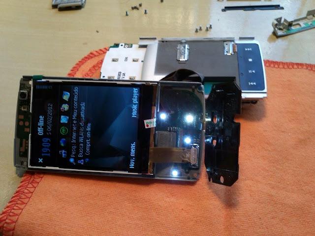 Telefone Nokia Tela Trocada