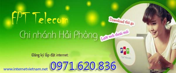 Đăng Ký Internet FPT Phường Lạch Tray