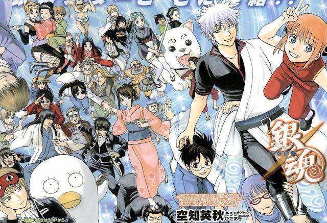 """Manga Gintama llegará al """"clímax"""" de su arco final el 5 de febrero"""