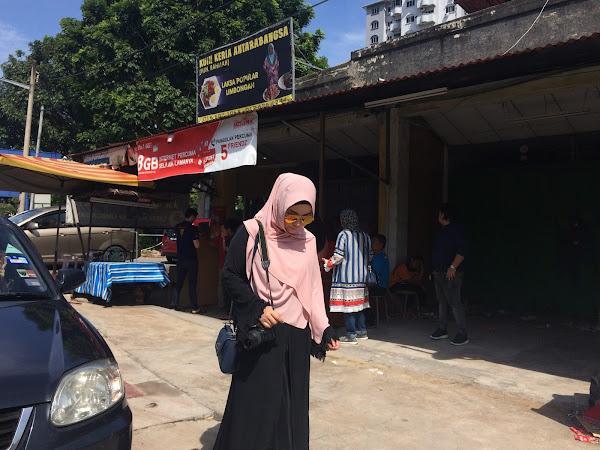 Sia sia ke beratur untuk dapatkan Kuih Keria viral dekat Melaka tu?