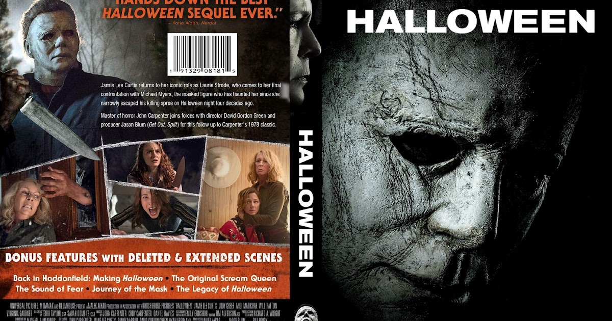Halloween 1978 2020 Dvd Cover Halloween 2018 DVD Cover   Cover Addict   Free DVD, Bluray Covers