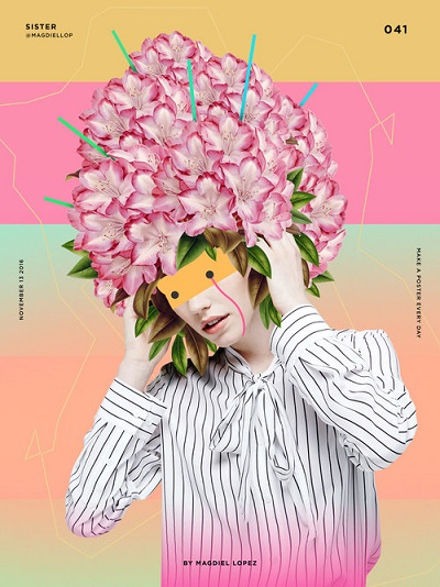 "por Magdiel Lopez, ""Sister"" 