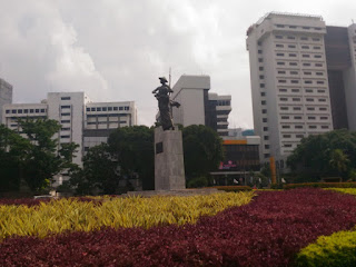 Patung Tugu Tani di Menteng