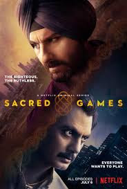 Poster Of Sacred Games Season 01 2018 Watch Online Free Download