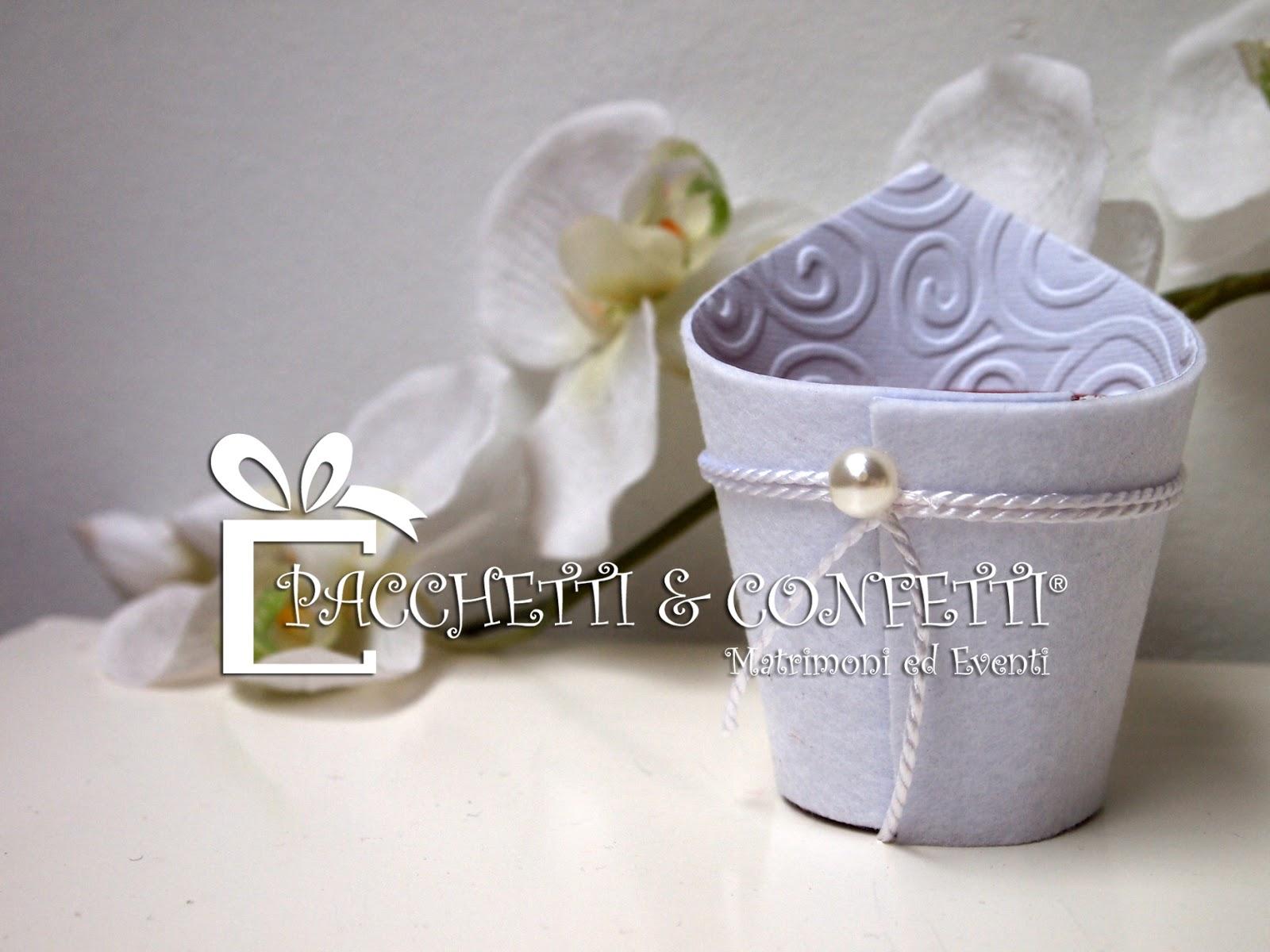 Favorito Pacchetti e Confetti: Bomboniere Nozze e carta decorata MT55