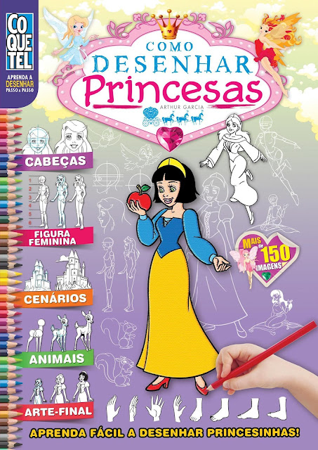 Como Desenhar Princesas Arthur Garcia