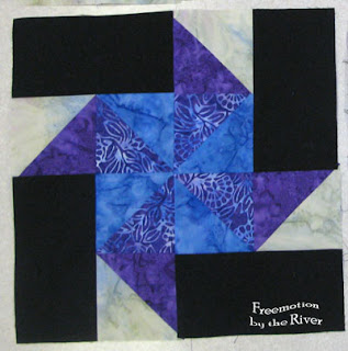Aurifil Designer of the Month May block 2013