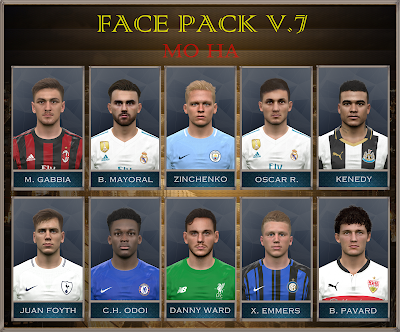 PES 2017 Facepack v7 by Mo Ha