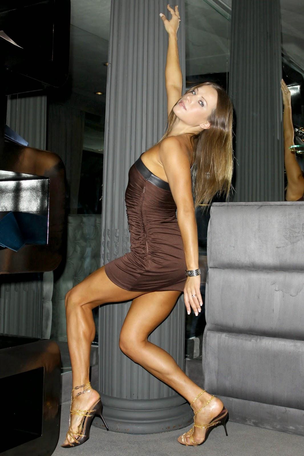 Her Calves Muscle Legs Edyta Sliwinska Muscular Calves