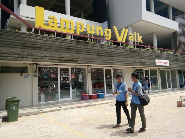 Lampung Walk, dari Sport Center Hingga Kolam Renang