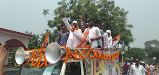 bhartiy-mitr-party-road-show-madhubani