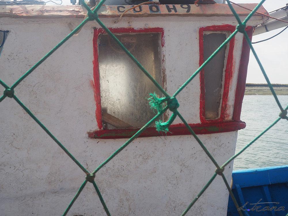 ventana barco Sta Luzia Portugal