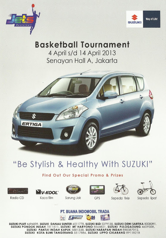 Promo April Suzuki & Jets Basketball Tournament title=