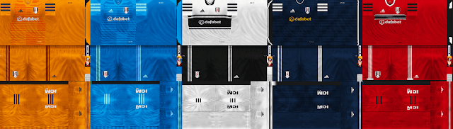 Fulham FC Kit Season 2018/2019 For PES 6